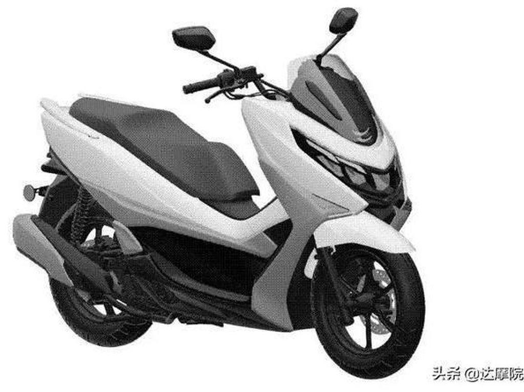 Motor Mirip PCX Ini Disebut Jadi Penantang Nmax dari Suzuki