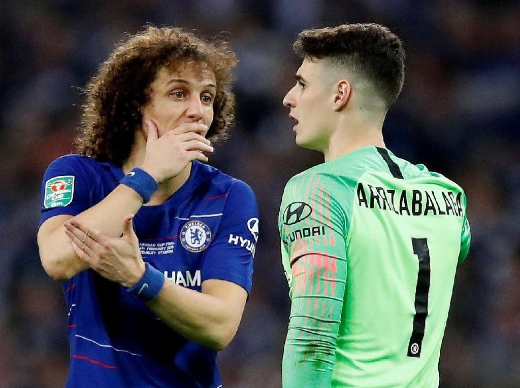 David Luiz kepada Kepa: Hormati Sarri
