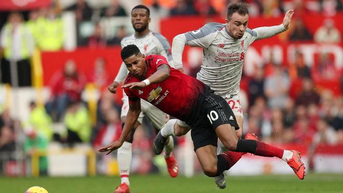 Susunan pemain MU vs Liverpool. (Foto: Reuters)