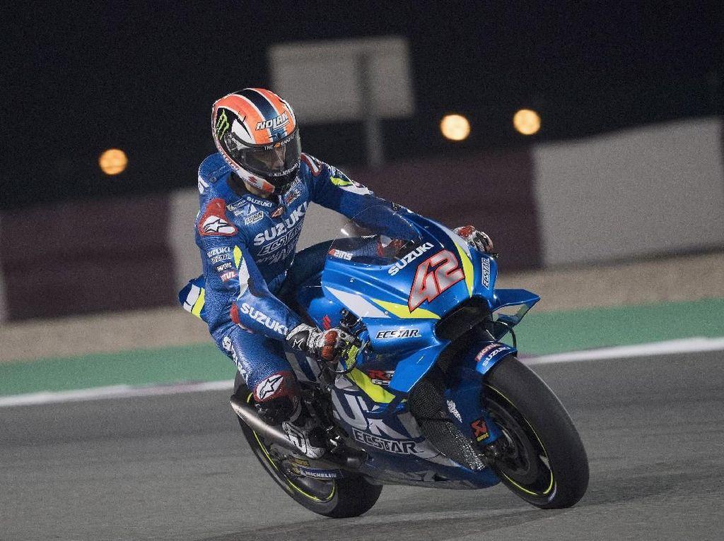 Alex Rins Ungguli Vinales di Tes MotoGP Qatar Hari Kedua