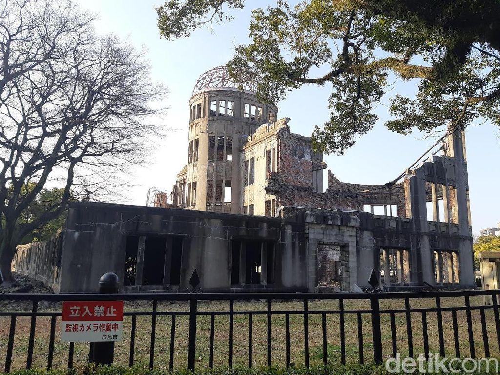Foto: Saksi Bisu Bom Atom Hiroshima