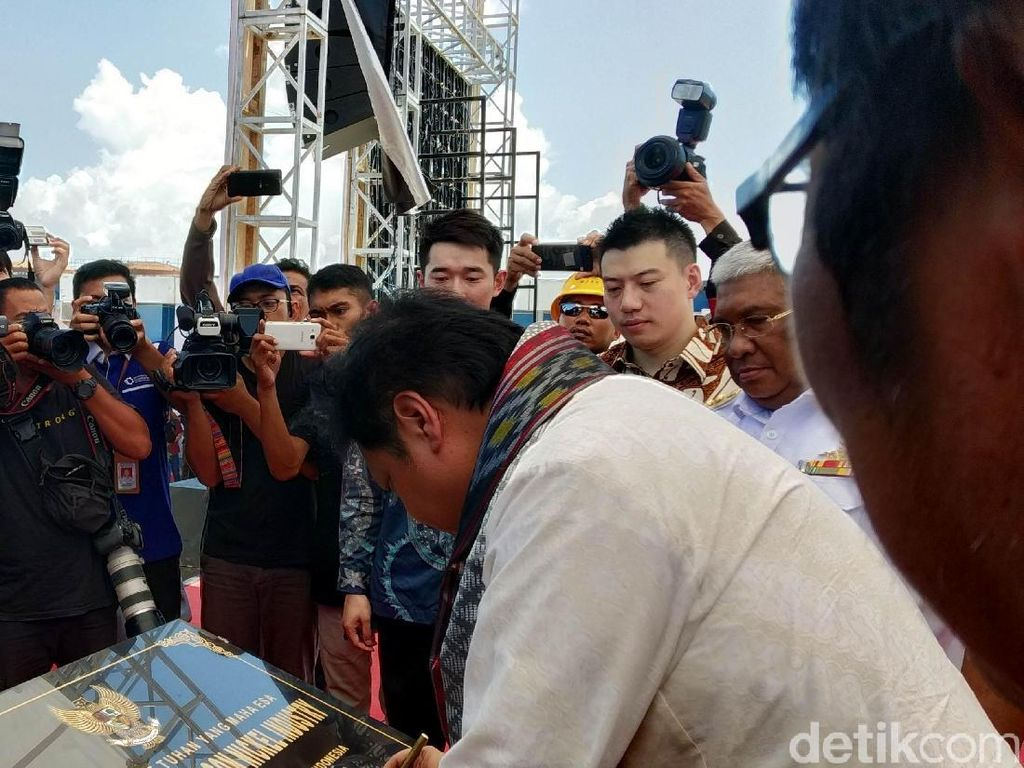 Smelter Rp 14 Triliun Beroperasi di Sulawesi Tenggara