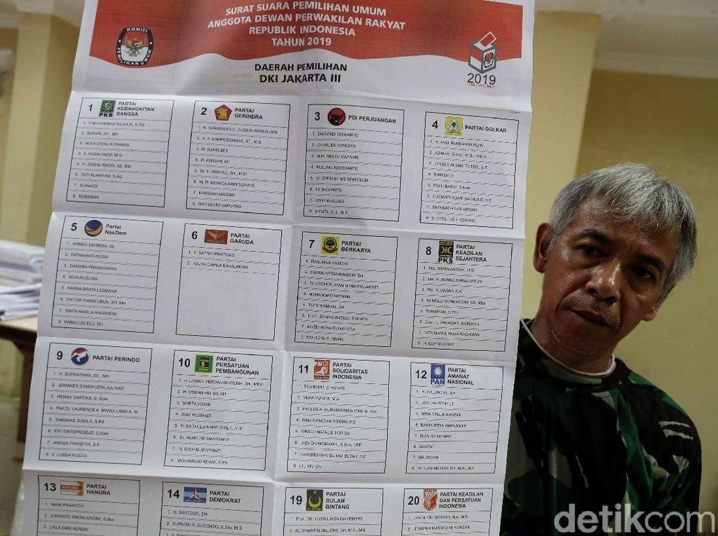 Survei Litbang Kompas: PDIP-Gerindra Teratas, 7 Parpol Terancam Tak ke DPR