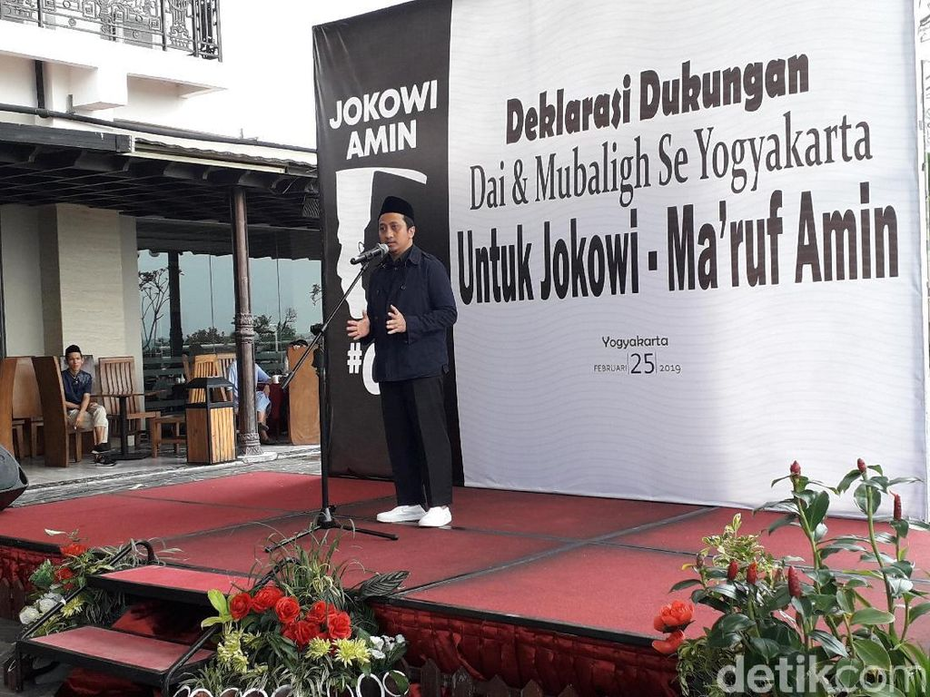 Hadiri Deklarasi Dai Pro-Jokowi, Yusuf Mansur Ajak Doakan Prabowo