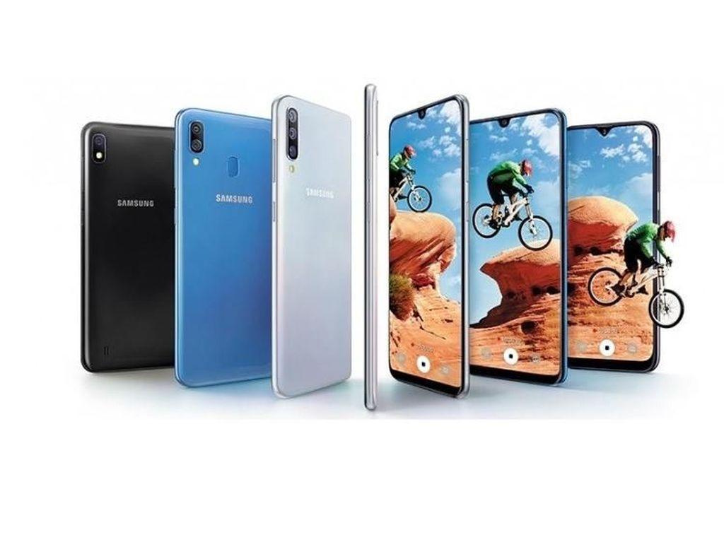 Galaxy A50 Kebagian Fitur Night Mode dan Super Slo-Mo