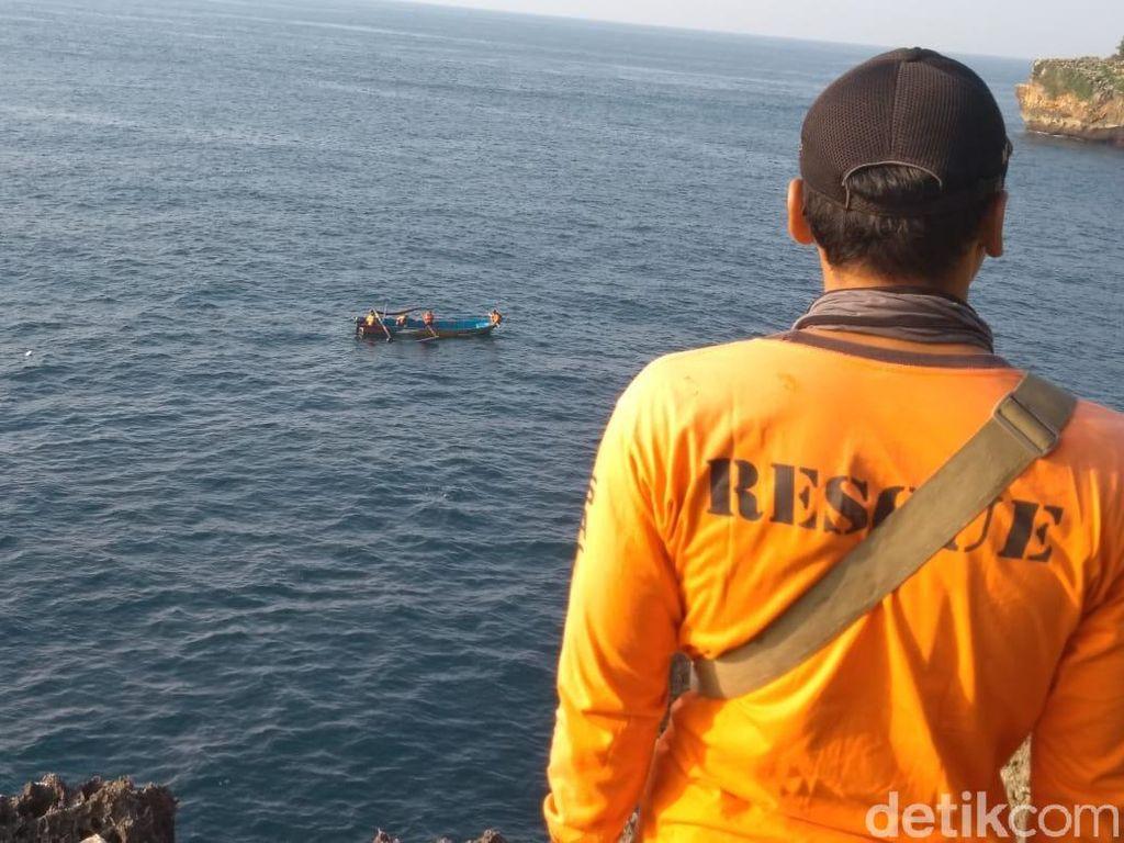 Pamit Mancing, Pria Gunungkidul Hilang di Pantai Sedahan