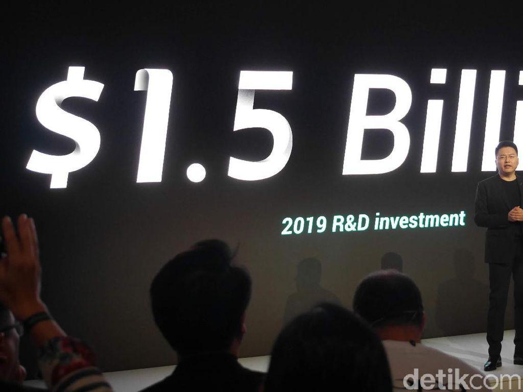 Oppo Keluarkan Rp 21 Triliun untuk Riset