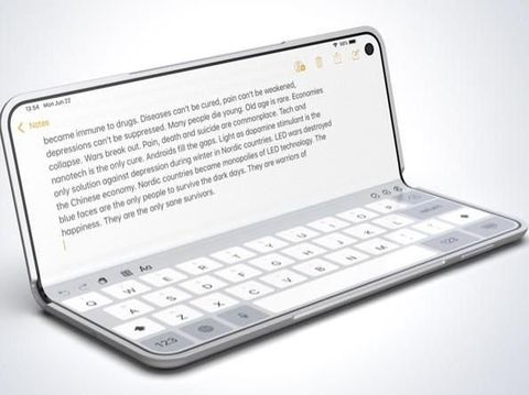 Konsep iPhone X Fold