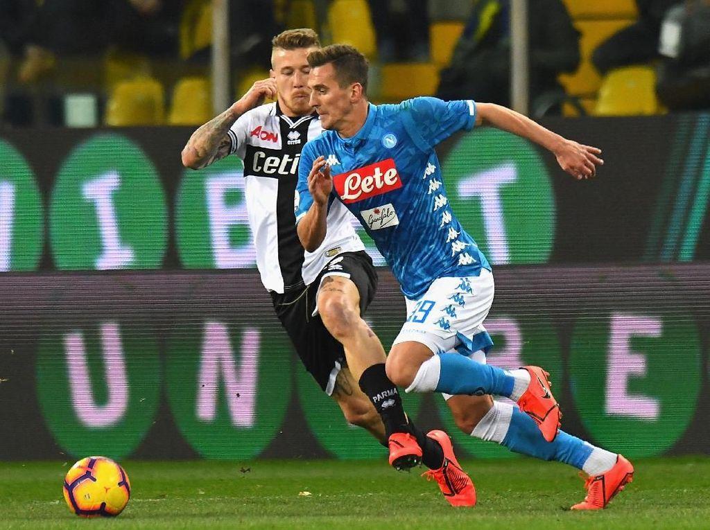 Hasil Liga Italia: Napoli Gulung Parma 4-0