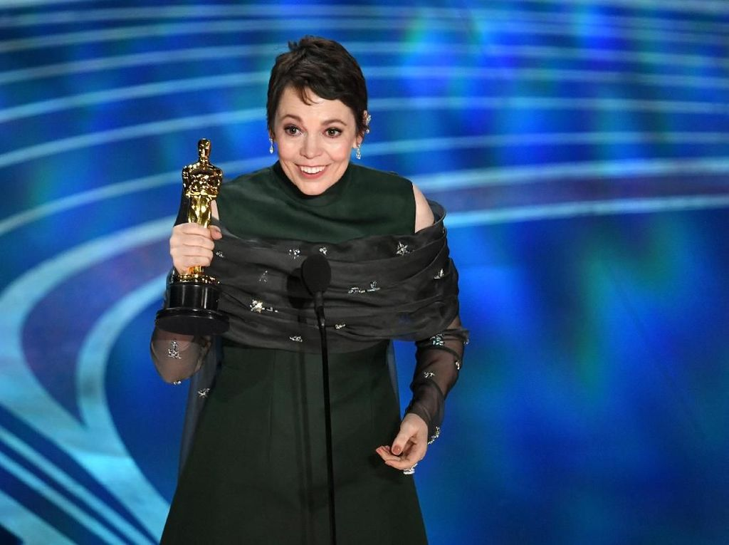 Maaf Lady Gaga... Olivia Colman Menangkan Best Actress