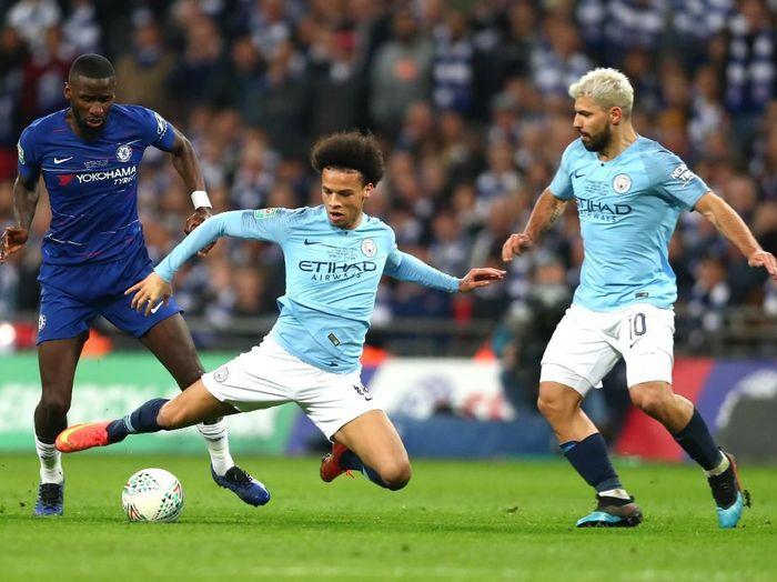 Final Piala Liga Inggris antara Chelsea vs Manchester City. (Foto: Clive Rose/Getty Images)