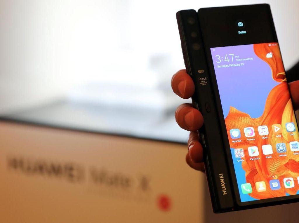 Spek Lengkap Huawei Mate X, Smartphone Flagship Termahal