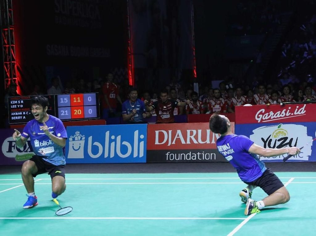 PB Djarum Juara Superliga Badminton 2019
