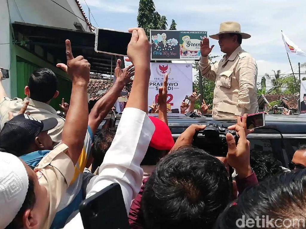 Di Depan Kiai di Pasuruan, Prabowo Janji Basmi Narkoba
