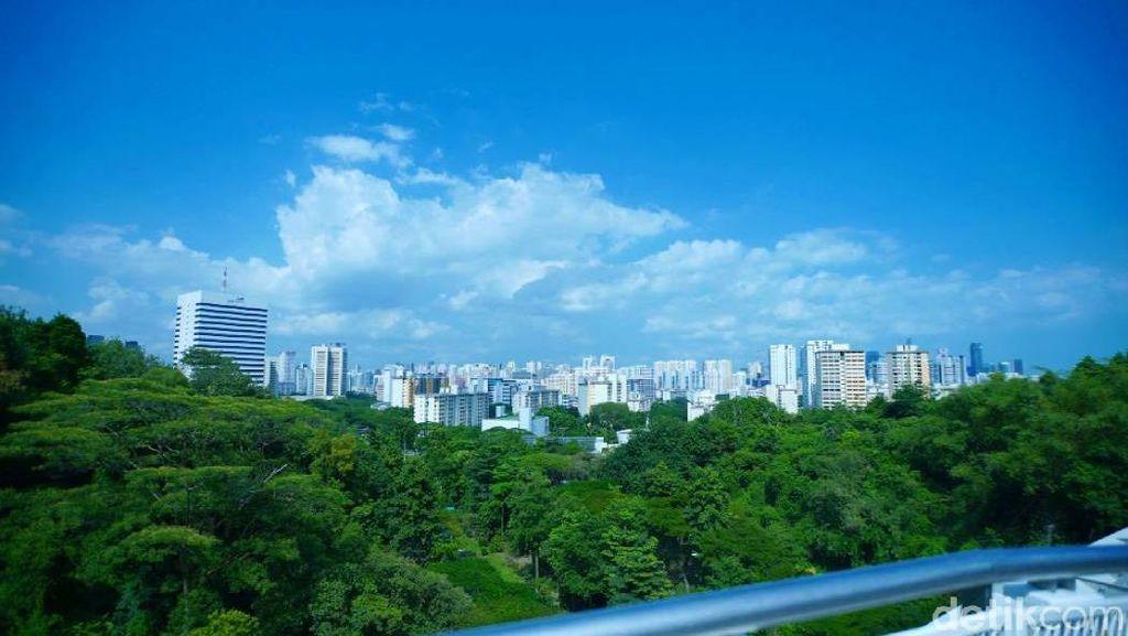 Foto: Tempat Terbaik Memandangi Singapura