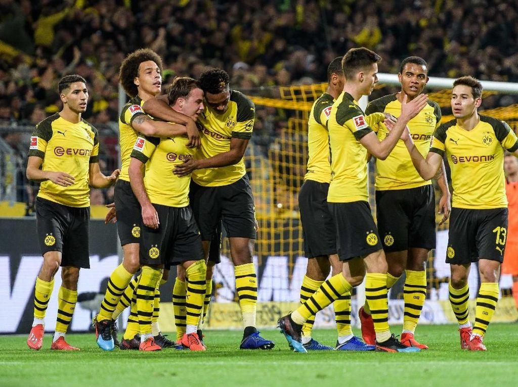 Hasil Liga Jerman: Kalahkan Leverkusen, Dortmund Kembali Jauhi Bayern