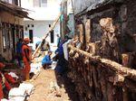 Tembok Rumah Tetangga Nyaris Amblas, 15 Warga di Jagakarsa Mengungsi
