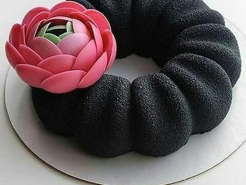 Unik dan Eksotis, 10 Cake Ini Warnanya Hitam Pekat