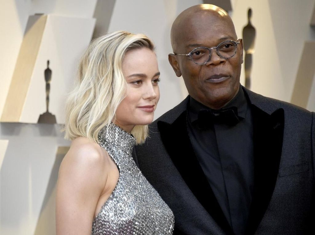 Superhero Marvel Favorit Brie Larson dan Samuel L. Jackson