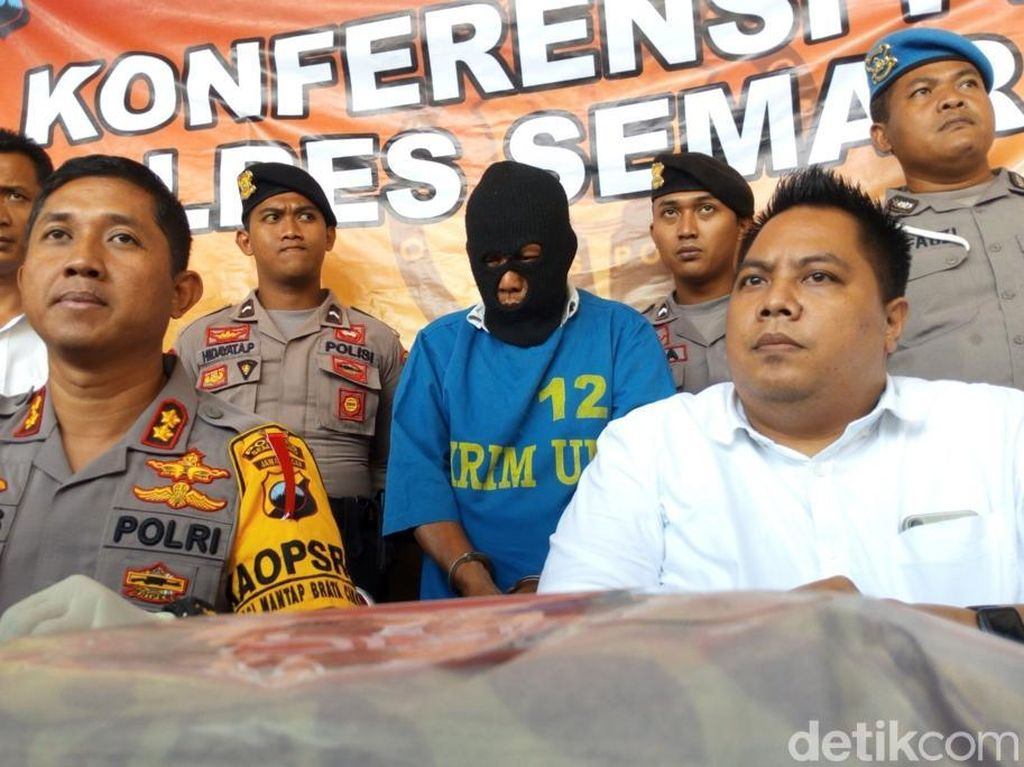 Kakek di Semarang Ini Perkosa Anak Angkat Hingga Hamil 5 Bulan