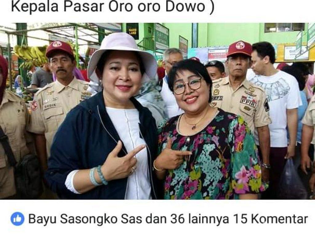 Pose 2 Jari Bareng Titiek, ASN di Malang Dilaporkan Bawaslu