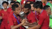 Sani Pencetak Gol di Piala AFF U-22 Ternyata Polisi Anak Tukang Ojek