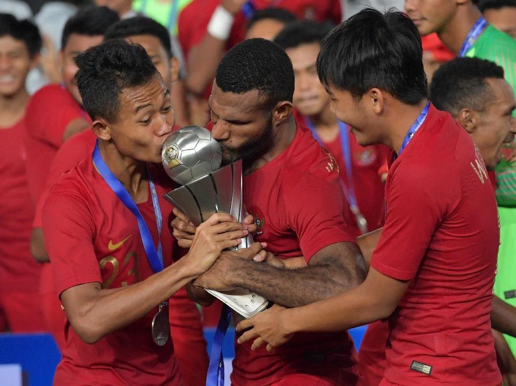 Pesta Juara Timnas Indonesia di Kamboja