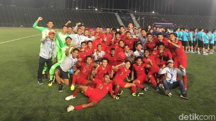 Timnas Indonesia juara Piala AFF U-22. (Foto: Lucas Aditya/detikSport)