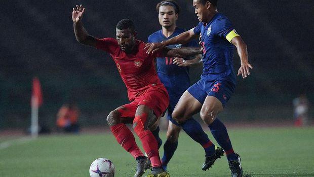 Marinus Wanewar gagal mencetak gol di laga final.