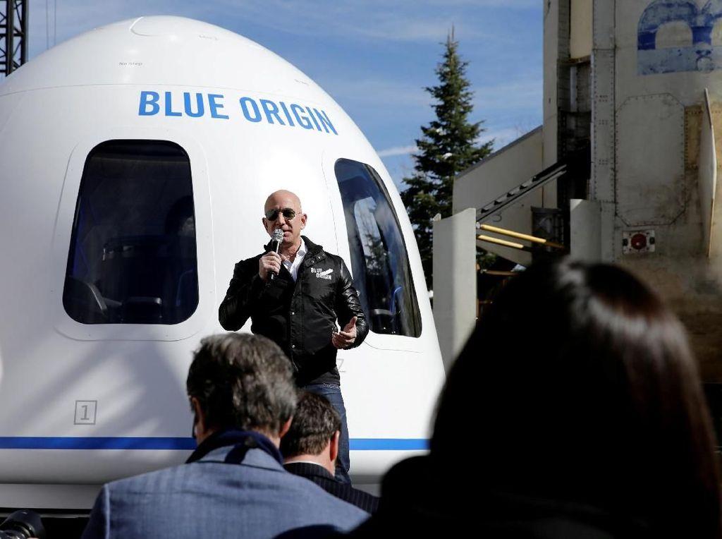 Jeff Bezos Mau Bangun Koloni 1 Triliun Manusia di Angkasa