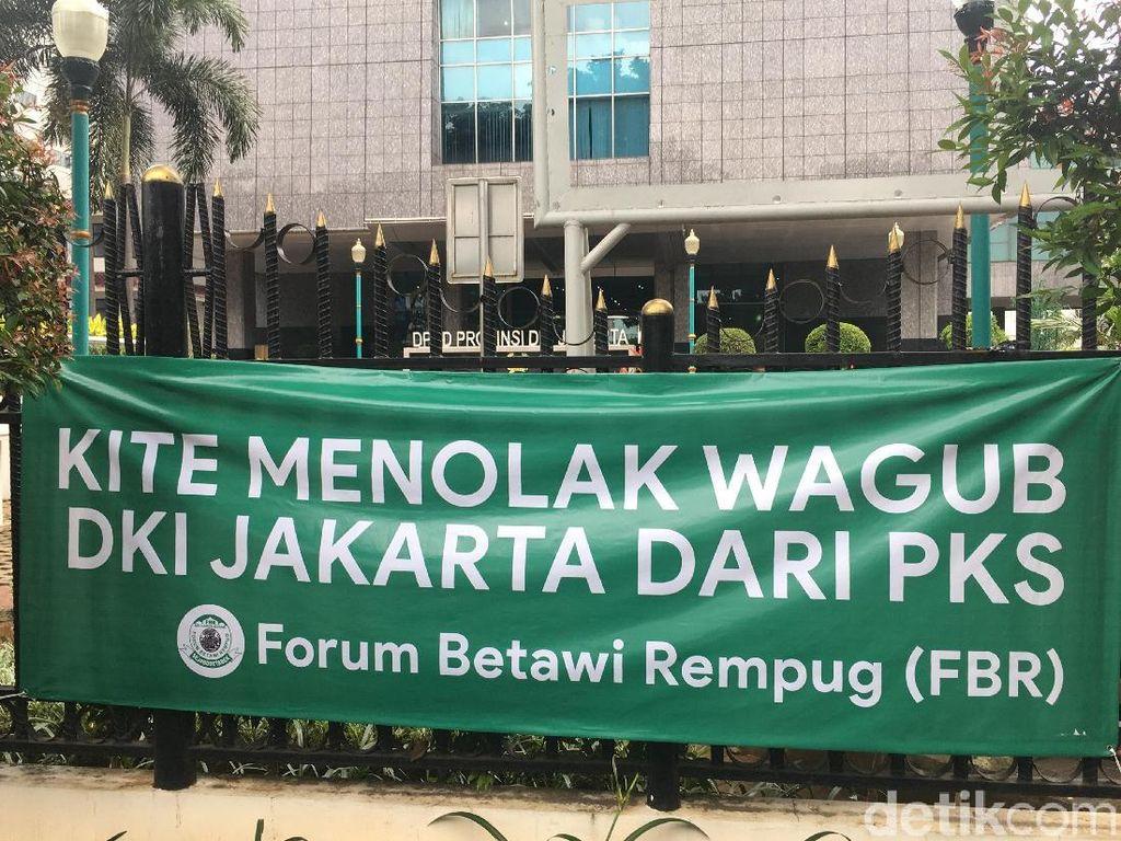 Manuver FBR Tolak Cawagub PKS: Sebar Spanduk hingga Ancam Tak Pilih