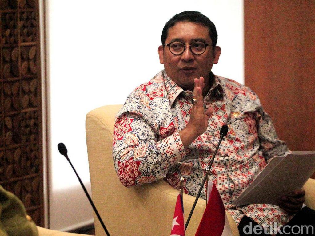 Fadli Zon Dituding Bohong, BPN: Eks Panglima GAM Linge Timses Jokowi?