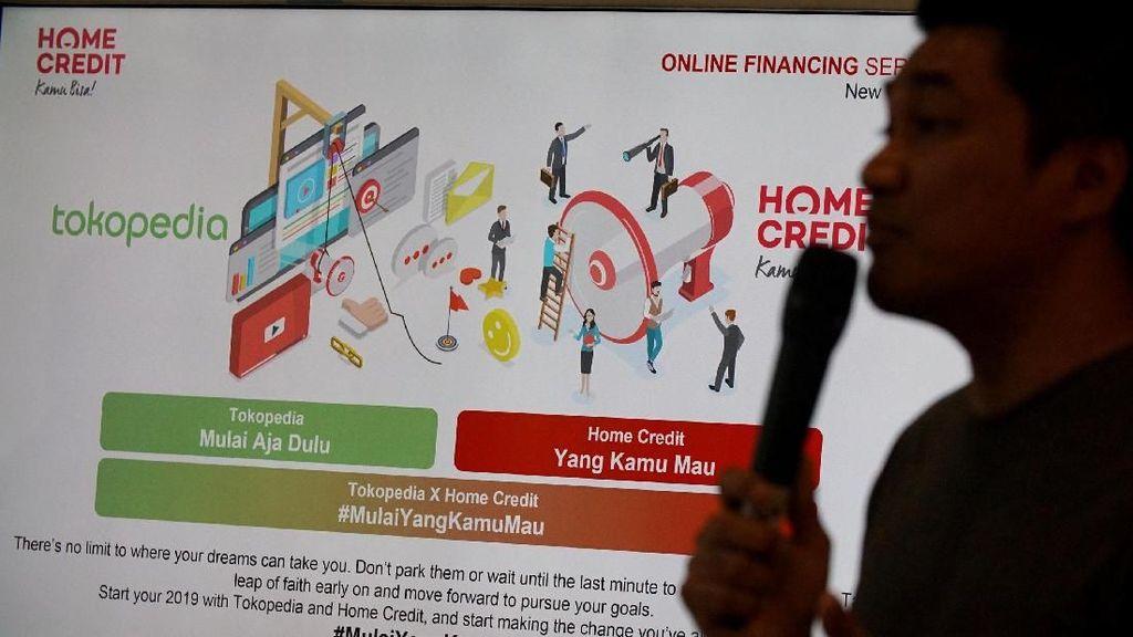 Jajan di Tokped Bisa Kredit Lewat Pembiayaan Online