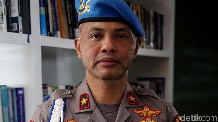 Ketua Satgas Anti Mafia bola Hendro Pandowo. (Foto: Muhammad Ridho/detikcom)