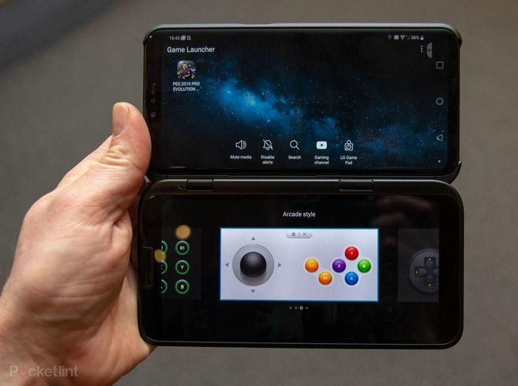 Melihat LG V50, Ponsel 5G dengan Dua Layar
