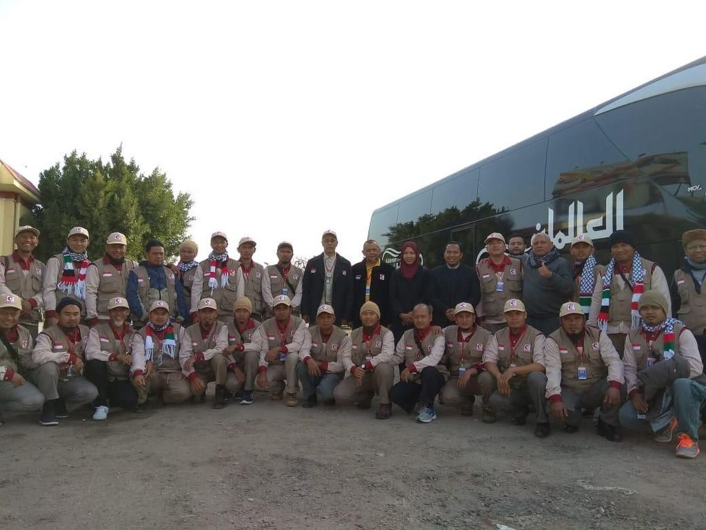 KBRI Kairo Dampingi Relawan MER-C Masuk ke Gaza