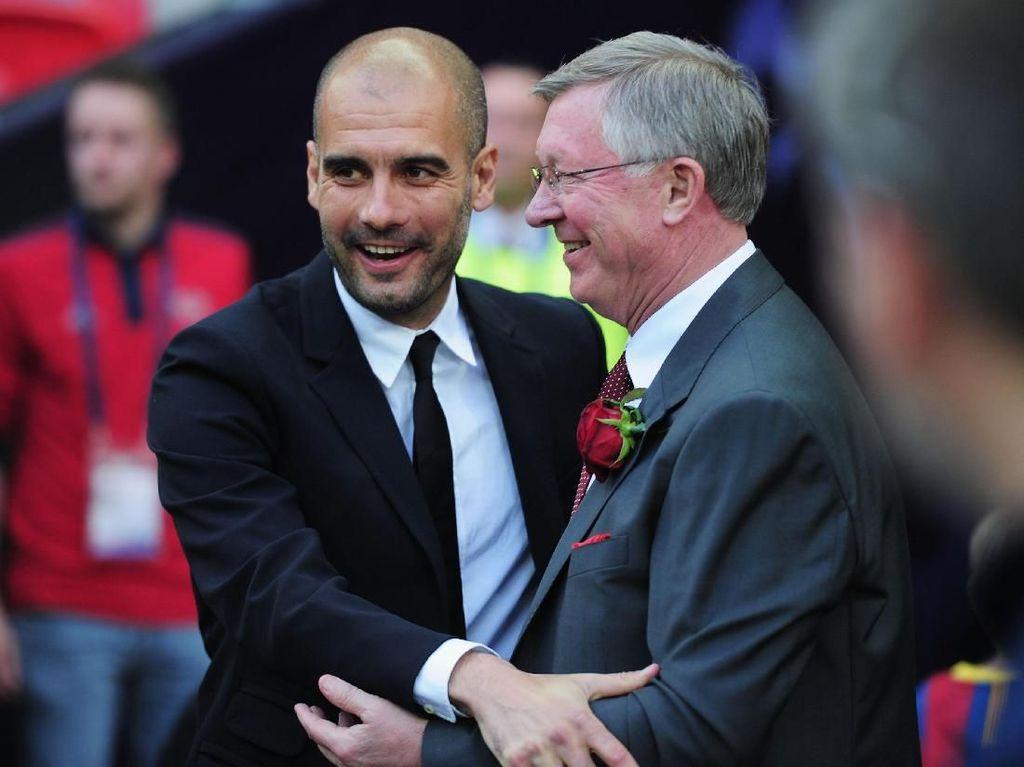 Guardiola Terus Mengejar Sir Alex Ferguson