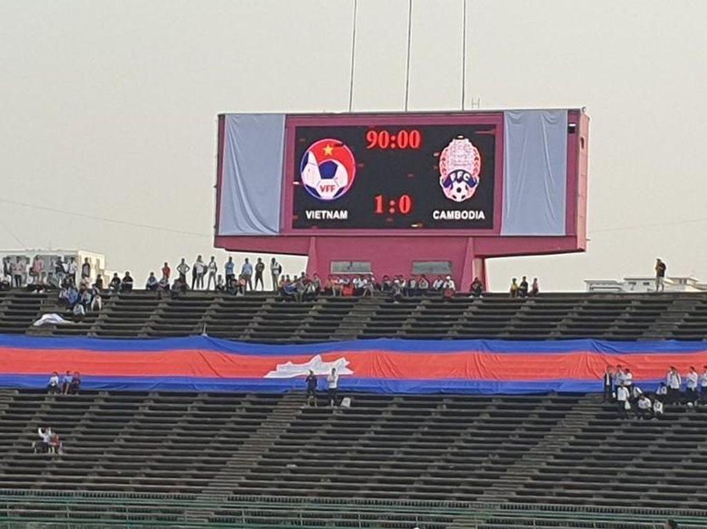 Piala AFF U-22: Kalahkan Kamboja, Vietnam Rebut Tempat Ketiga