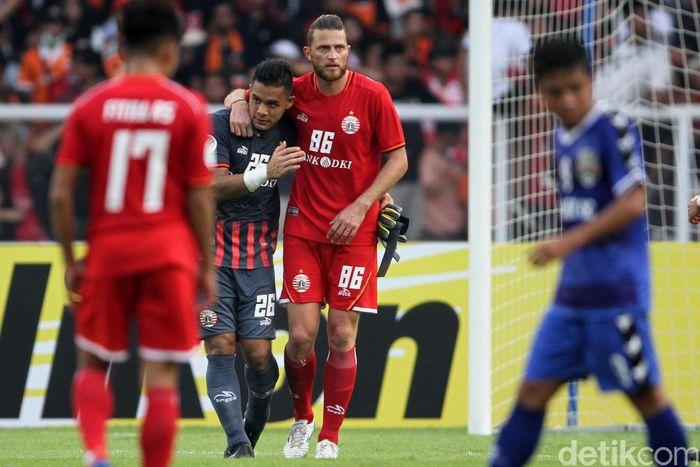 Laga berlangsung di Stadion Utama Gelora Bung Karno, Selasa (26/2/2019) sore WIB.