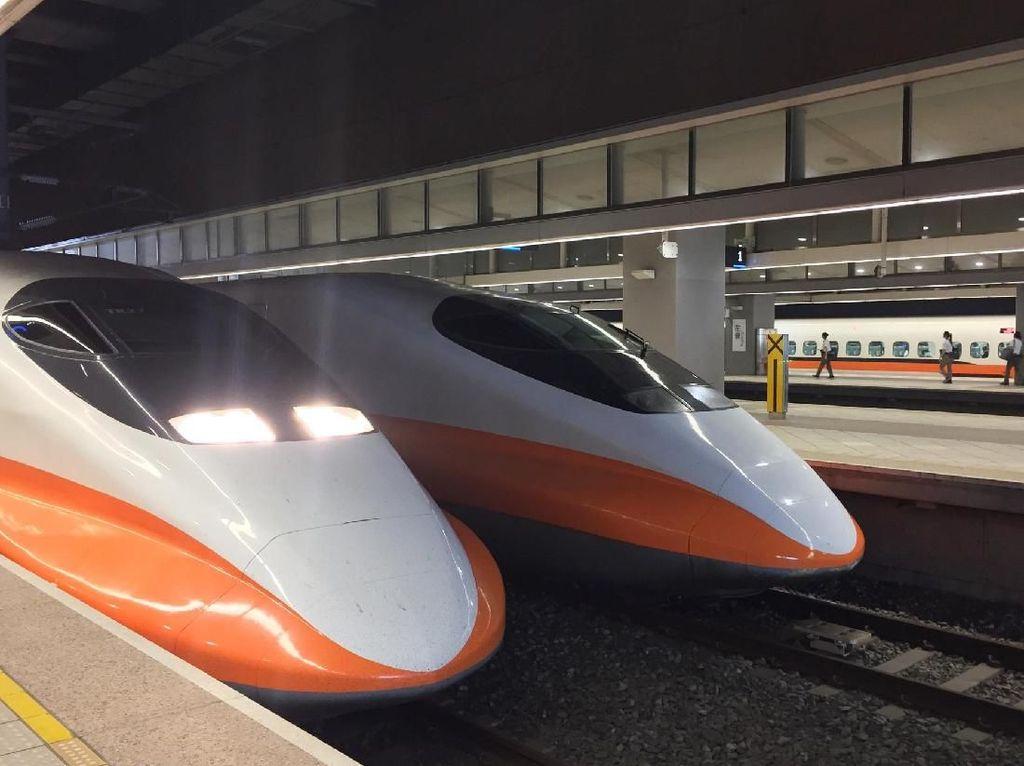 Foto: Ini Rasanya Naik Kereta Peluru di Taiwan