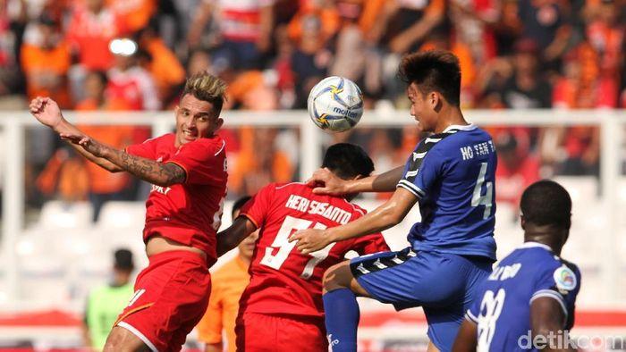 Persija Jakarta saat tampil di Piala AFC 2019. (Rifkianto Nugroho/detikSport)