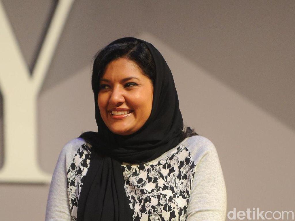 Gaya Putri Reema, Wanita Pertama yang Jadi Dubes Saudi di Amerika