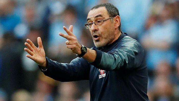 Keluarga menjadi salah satu alasan utama Maurizio Sarri meninggalkan Chelsea dan gabung Juventus (Jason Cairnduff/Action Images via Reuters)