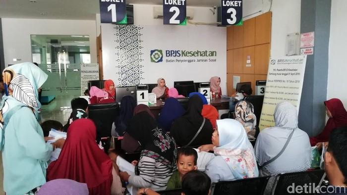 Ilustrasi layanan BPJS Kesehatan (Foto: Muhajir Arifin)