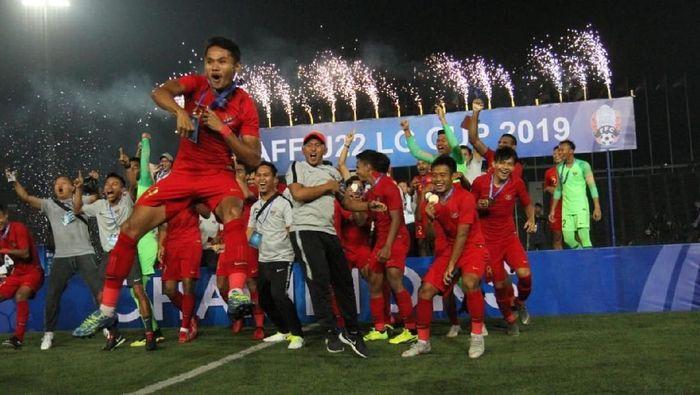 Timnas U-22 akan dapat bonus usai menjuarai Piala AFF U-22 (dok. PSSI)