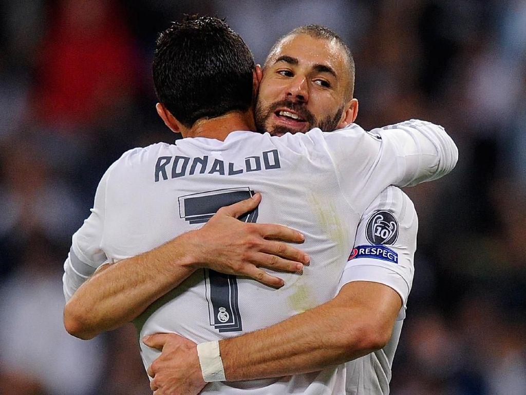 Mourinho: Ronaldo Jatuh Hati dengan Benzema di Real Madrid
