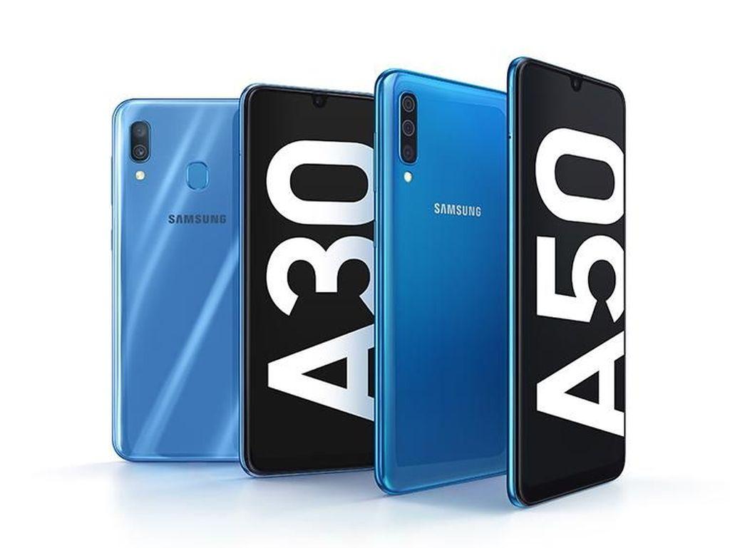 Galaxy A30 & A50 Resmi Dirilis, Bawa Layar  dan Baterai Jumbo