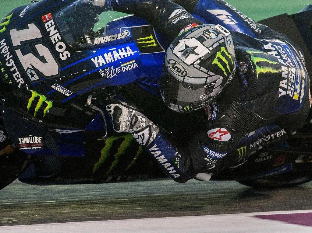 Vinales Tercepat di Hari Terakhir Tes MotoGP Qatar