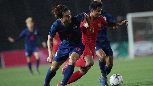 Timnas Indonesia U-22 menang 2-1 atas Thailand di laga final.