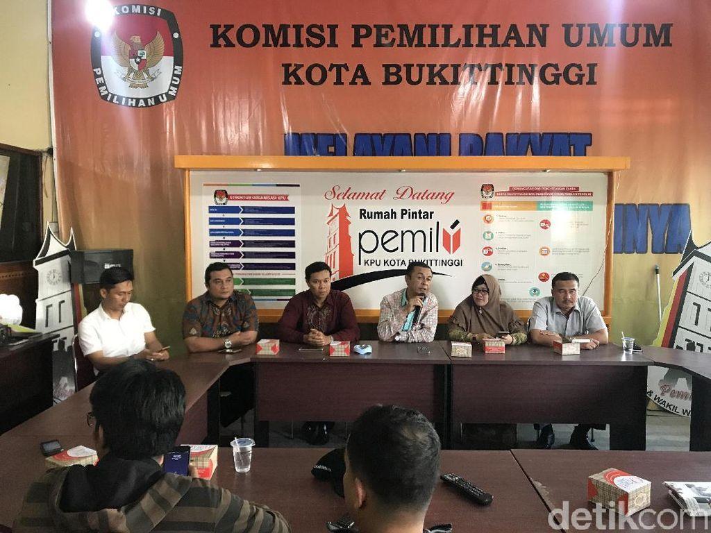 Memilih Ikut CPNS, 2 Caleg Dicoret KPU Bukittinggi